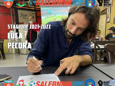 Luca Pecora firma per il Salernum